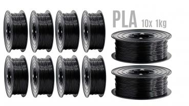 Prototyping MonoColor PLA Filament Special Bigbox offer  9,9 €/kilo Schwarz RAL9005