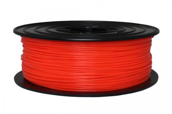 PLA 1,75mm - Neon Rot (RAL 3024 Leuchtrot)