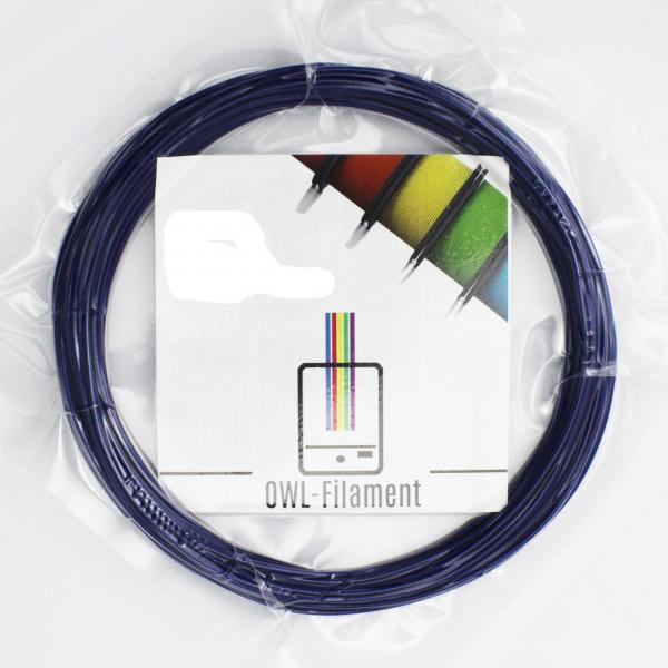 PLA 1,75mm - Pearlnightblue Metallic RAL5026 - 50 Gramm Sample
